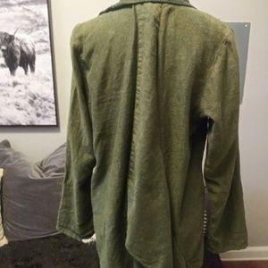 Cynthia Ashby Jackets & Coats - Cynthia Ashby 100% linen jacket/ Blazer